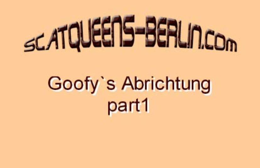 Goofy's Abrichtung Part 1