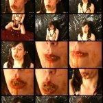 vid327 Slavegirl Eat Shit