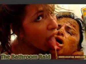 The Bathroom Raid - Messy Paula, Scatdoll
