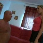 clean my panties – fat slaveboy and cute mistress