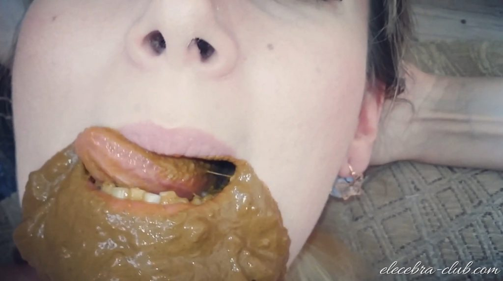 Elecebra – Incredible Mass Diahrrea Swallowing - 4