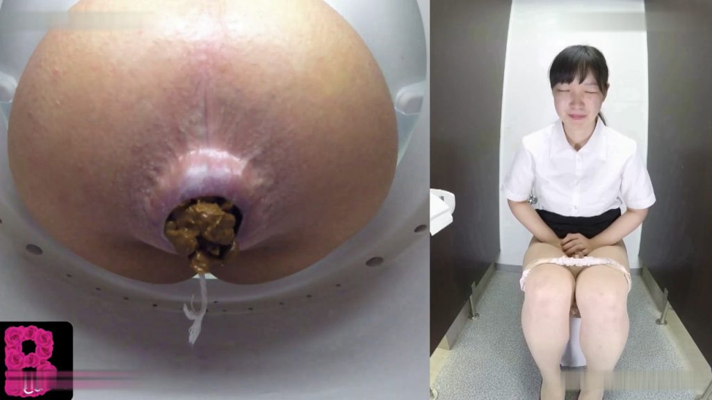 BFBY-03 Beayty schoolgirls pooping in toilet room - 2