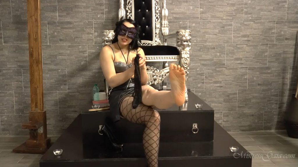 Aching Balls and Scat Lunch - Mistress Gaia 2