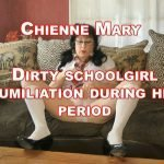Dirty Schoolgirl Humiliation During her Period – ChienneMary – HD 720p (Scat, Period Play)