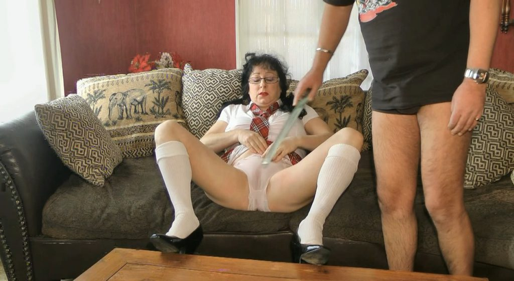 Dirty Schoolgirl Humiliation During her Period - ChienneMary - HD 720p (Scat, Period Play) - 2