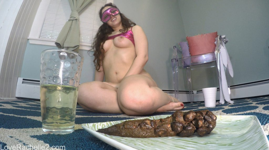 Piss & Shit Meal Just For You - LoveRachelle2 - 4K Ultra HD (Poop Videos, Toilet Slavery) - 5