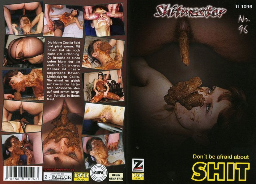 Shitmaster 96 - Scat body mask and lot shit in mouth!