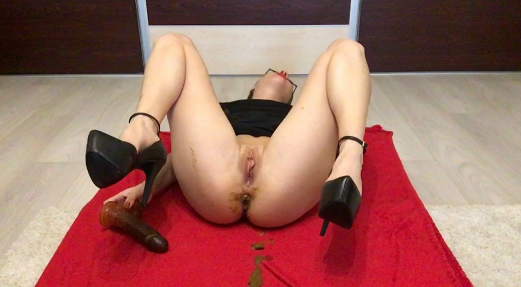 Some Random Dirty Ass Fuck - Ella Gilbert - HD 720p (Poop Videos, Scat Solo, New Scat) 6