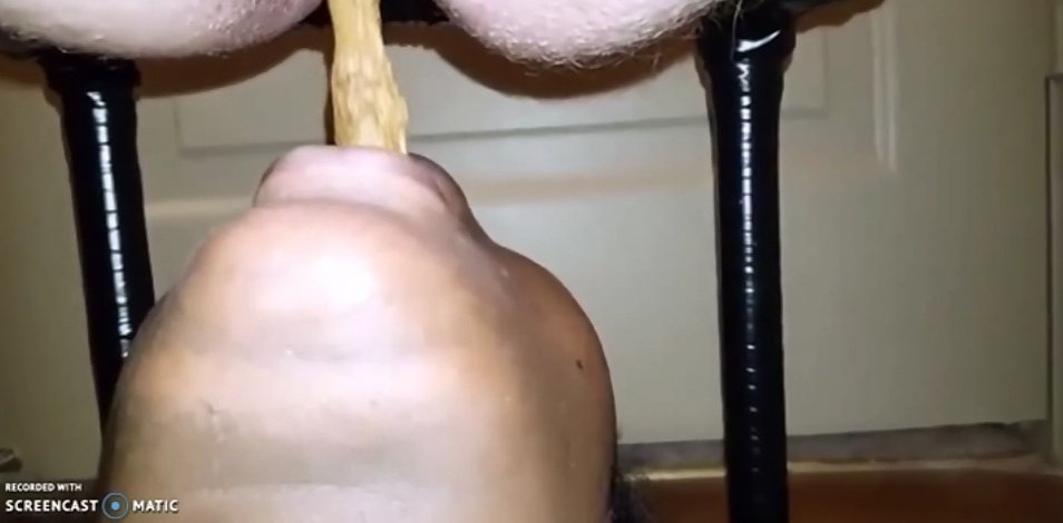 Males Diarrhea - Great Shitting on the Face 1