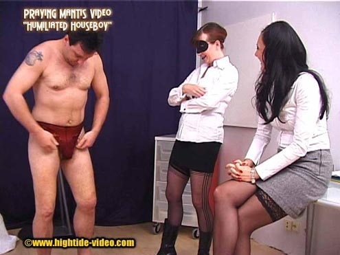 Humiliated Houseboy - True Toilet For Ladies