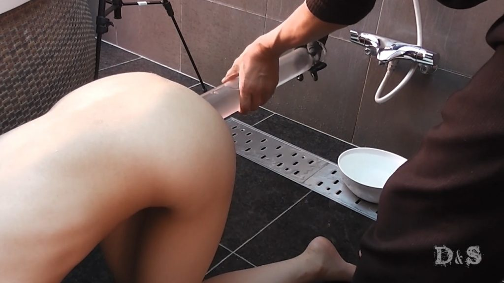 Enema defecation college student Maria By Master Joker (FULL-HD 1080p) Picture 1