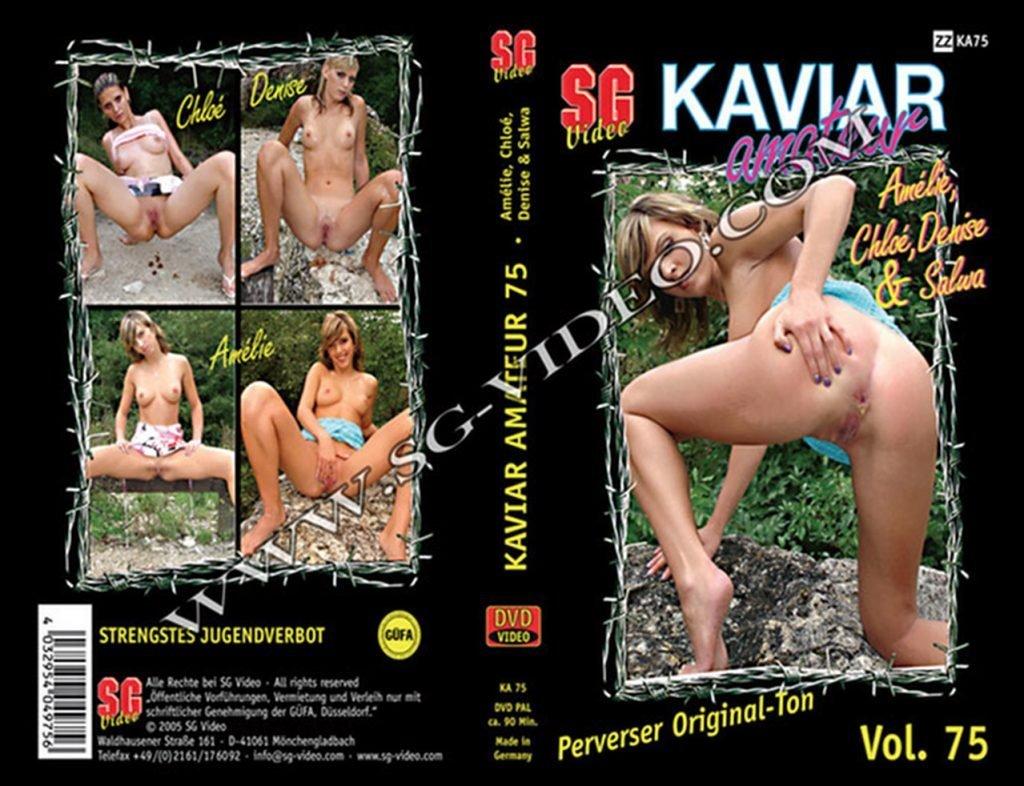 Kaviar Amateur 75 (Salwa, Chloe, Amelie and Denise)