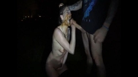 In the dark outdoor my enema and let fuck (FHD-1080p) Picture 4
