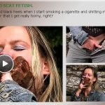 Outdoor Smoking and Scat Fetish