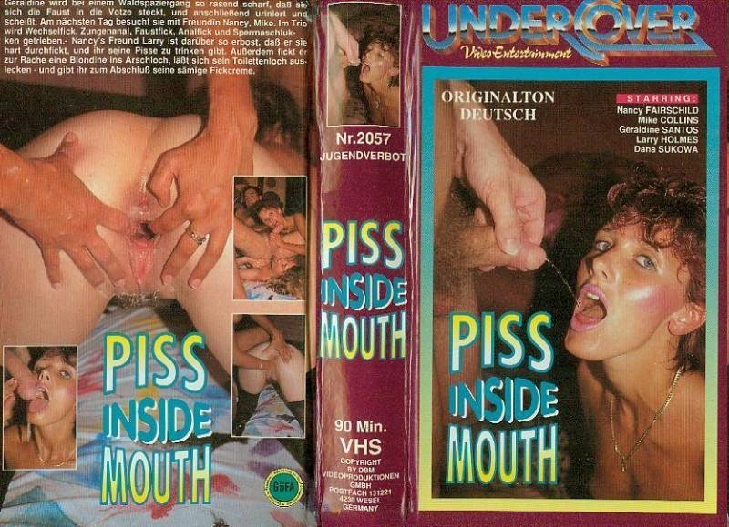 Undercover - Piss inside Mouth