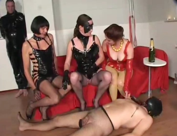 Exclusive Scat Orgy - Domination and Shemale inside