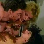 1990-s threesome scat orgy (Retro Copro Porn)