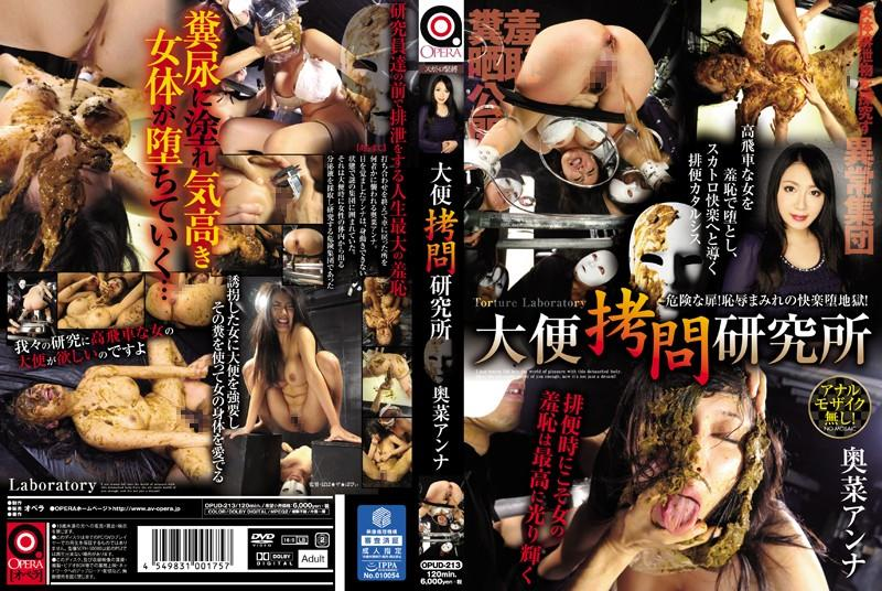 OPUD-213 Stool Torture Institute Okina Anna (Censored 800x450)