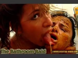 The Bathroom Raid - Messy Paula, Scatdoll