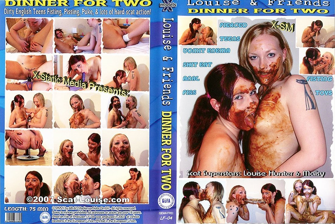 X-Models Louise & Friends 4 - Dinner for Two (640x480)