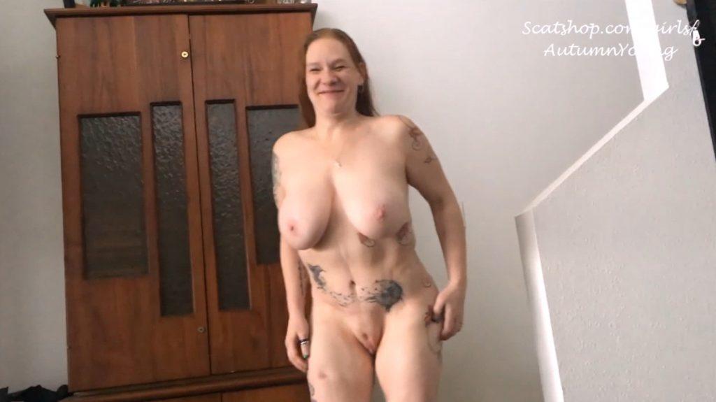 3 Pushing Grunting Shits Then Cum - Foot Fuck Dirty BJ Panty Poop (Part 3)