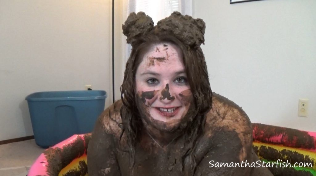 Dirty like a pig - Big Tits in the dirt and hair (Samantha Starfish) - 3