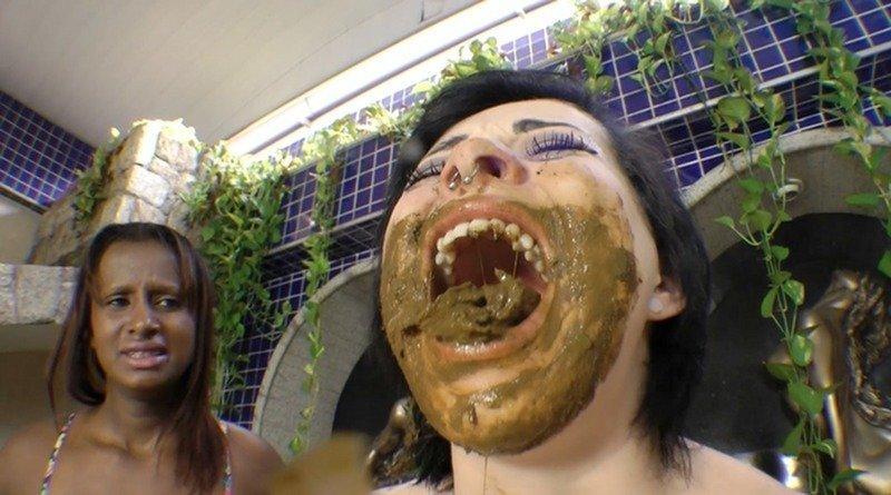Eat My Big Scat Sammy - Sammy and Beautiful Black Girl (SG-Video)
