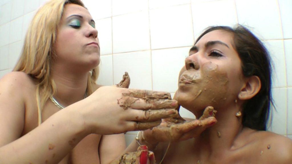 Eating kaviar lesbian, really skinny girls naked