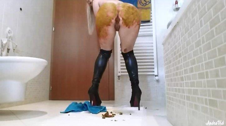 Extreme Scat Fetish From Goddess Jasmine - 3