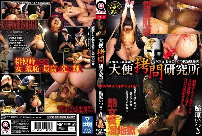 OPUD-251 Torture laboratory hard extreme scatology rape Ayuhara Itsuki ( 3 Hours in HD)