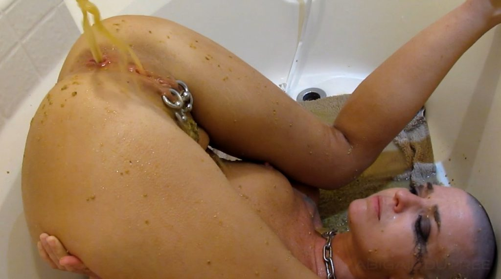 Abigail Dupree - Multiple Inverted Milk and Water Enemas Parts 1, 2 - 6