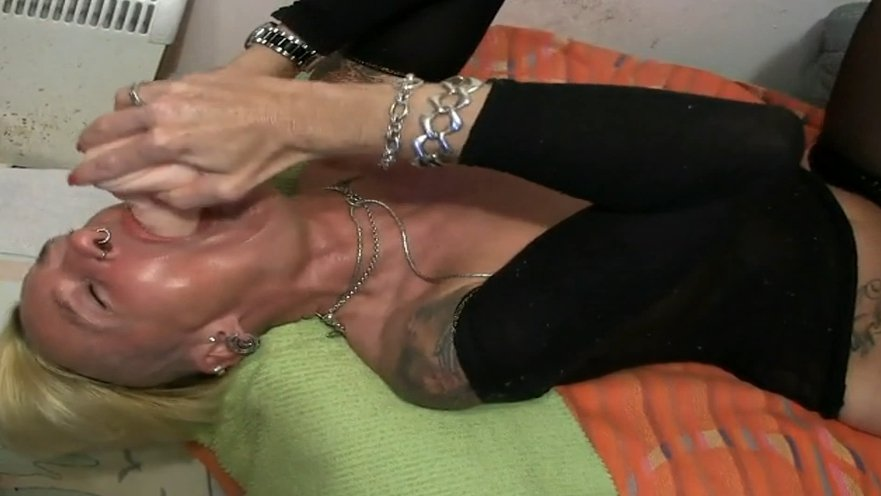 Drinking milk then and puking all over her face - Special FHD Porn (1080p)-3