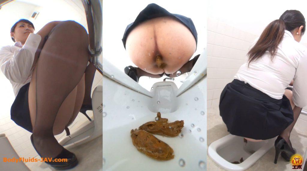 japanese girls on toilets