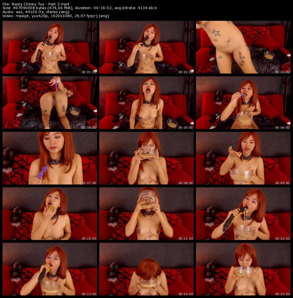 Nasty Chinky Toy - Part 3 (FHD)