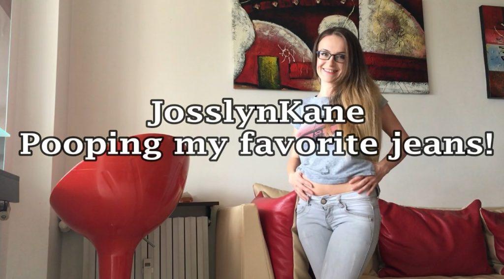 Josslyn Kane - Pooping My Favorite Jeans (FHD Scat)