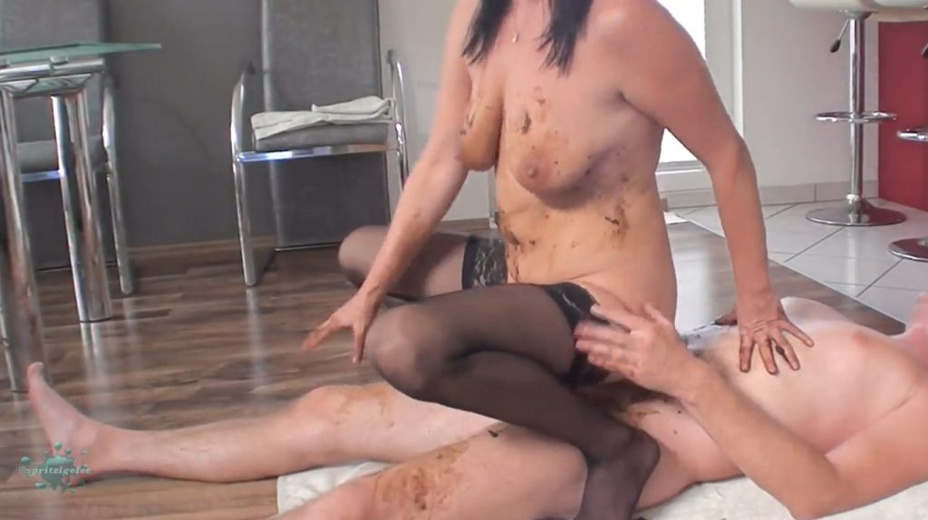 demented women bloody messy sex