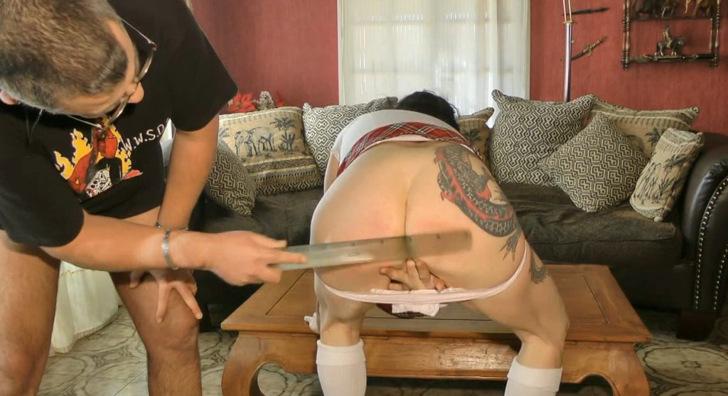 Dirty Schoolgirl Humiliation During her Period - ChienneMary - HD 720p (Scat, Period Play) - 4