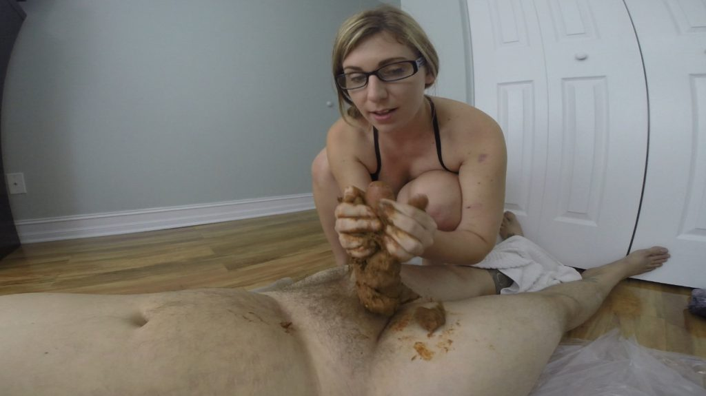 HOTSCATWIFE - Gigantic Poop On His Cock - 6