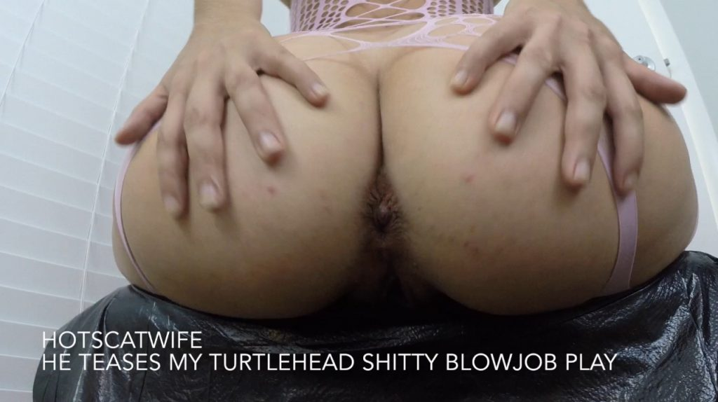 He TEASES my TURTLEHEAD Shitty Blowjob Play - HotScatWife - Full HD 1080 (Dirty Sex) 3