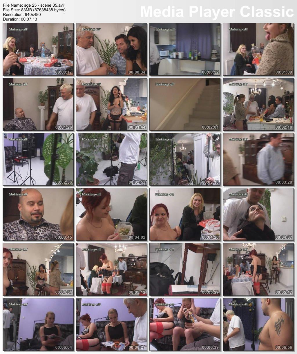 Sperrgebiet Erotik 25 - FULL MOVIE (Silvia, Natasha, Linda, Tima, Reda, Oxana and Roland) - Scene 5