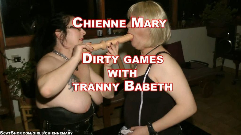 Chienne Mary - Dirty Games With Tranny Babeth (HD 720p)