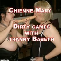 Chienne Mary – Dirty Games With Tranny Babeth (HD 720p)