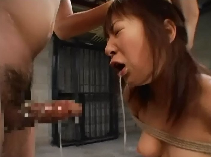DDT-164 Human urinal, continous forced skull fuck, creampie and semen bukkake with Mochida Akane 1