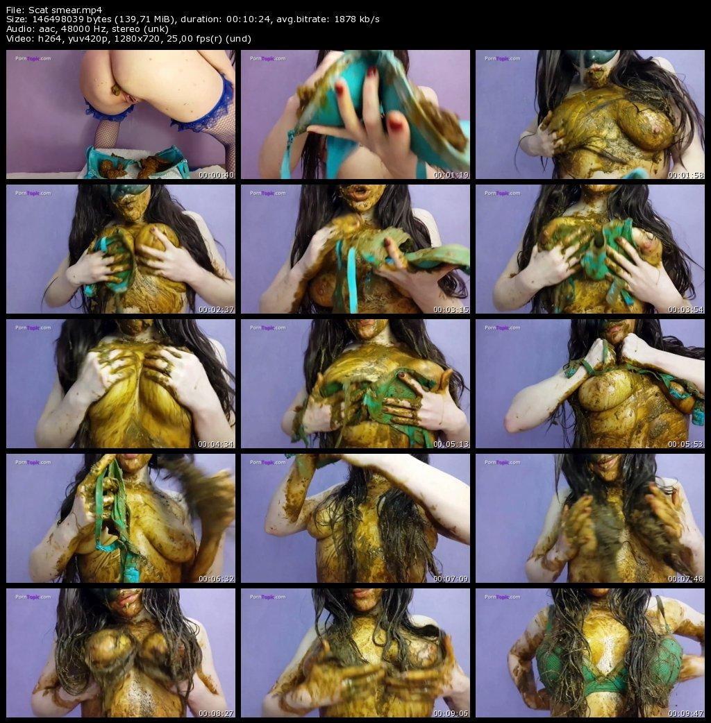 Scat smear - Anna Coprofield (HD-720p)