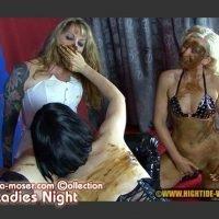 Veronica Moser – LADIES NIGHT (Lesbian Scat Sex, latex, shit smearing)