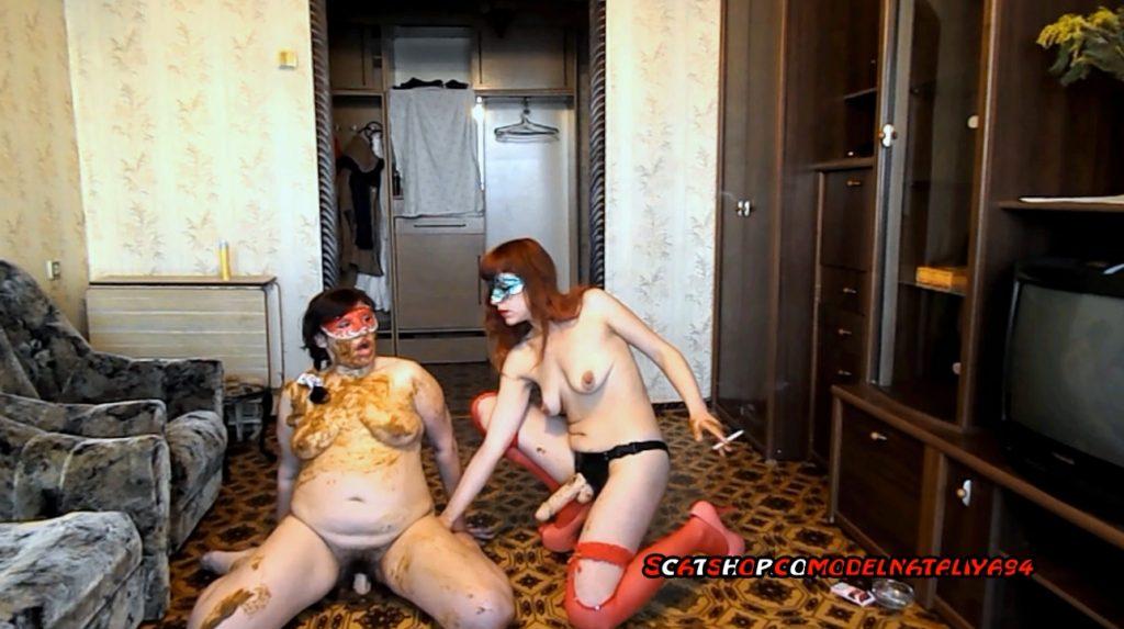 ModelNatalya94 - Olga loves dirty scat sex - screen 2