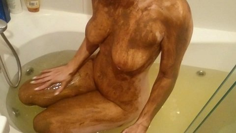 Brown wife - Bathing in shit water. Chapter 2 (Full HD-1080p)