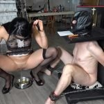 MistressGaia - TRAINING MY NEW TOILET SLAVE Pt 3 (Italian Scat Domination, Full HD 1080p)