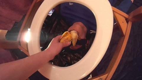 Princess Gina Erin Acquires an Obedient Toilet Slave Scat Domination - Pic 4