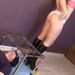 Princess Mia and toilet slave (Full HD)